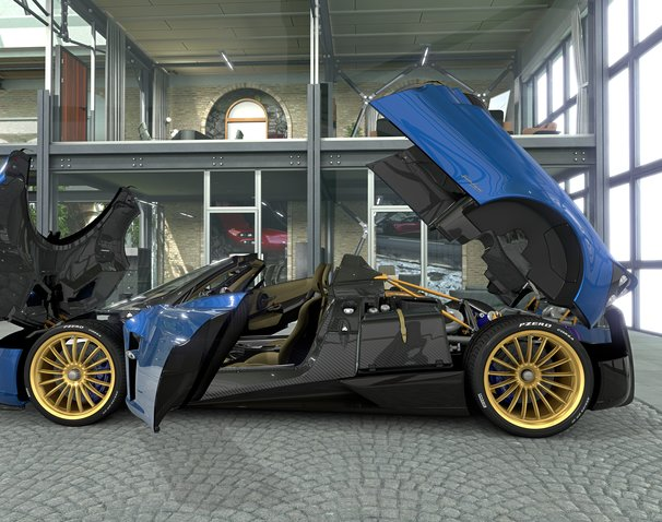 Huayra Roadster Online Launch Event